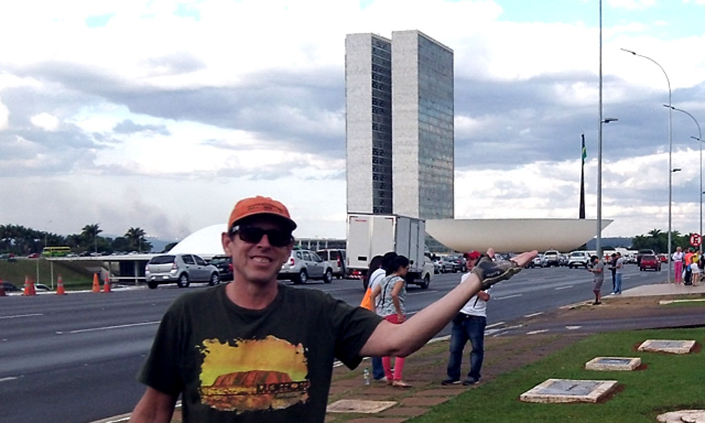 Aaron in Brasilia