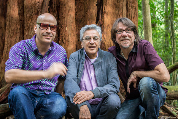 Andres Levin, Caetano Veloso and Lenine
