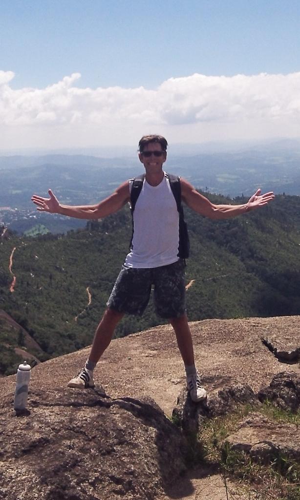 Aaron on Big Rock Brazil - Pedra Grande