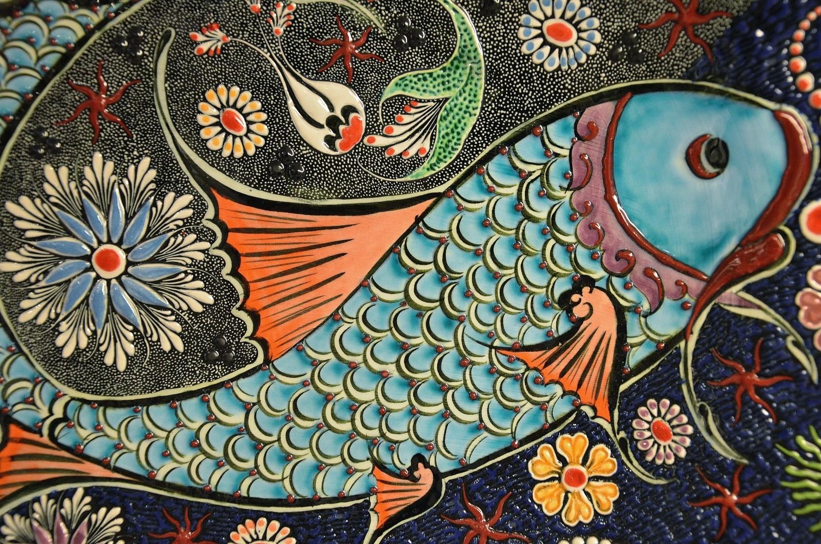 mosaic tile art ceramic colorful decorative - design vlog