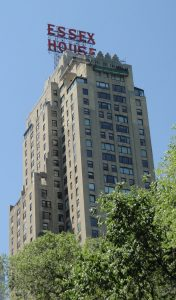 Essex House in New York, where Stravinsky lived at the end of his life