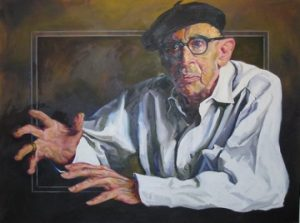 Louise Donahue portrait of Igor Stravinsky