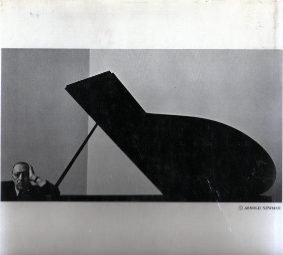 Igor Stravinsky photograph by Arnold Newman